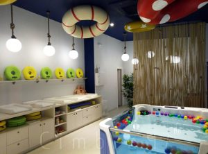 Diseño e interiorismo para SPLASH baby spa