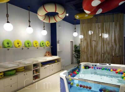 Diseño e interiorismo para SPLASH baby spa